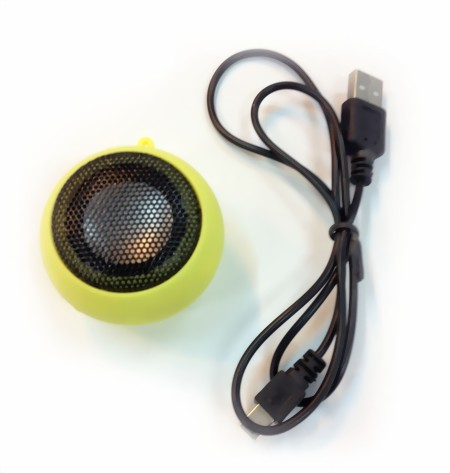 "Portabler USB Lautsprecher ""Hamburger mini speaker"""