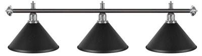 Billard Lampen - kegelförmig, schwarz