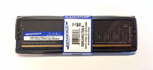 DDR4 4GB PC4-19200U CL17 288-Pin DIMM