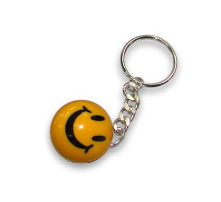 Schlüsselanhänger Smiley (Preis pro Stück)