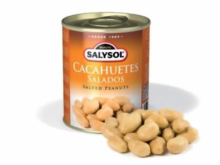Erdnüsse gesalzen