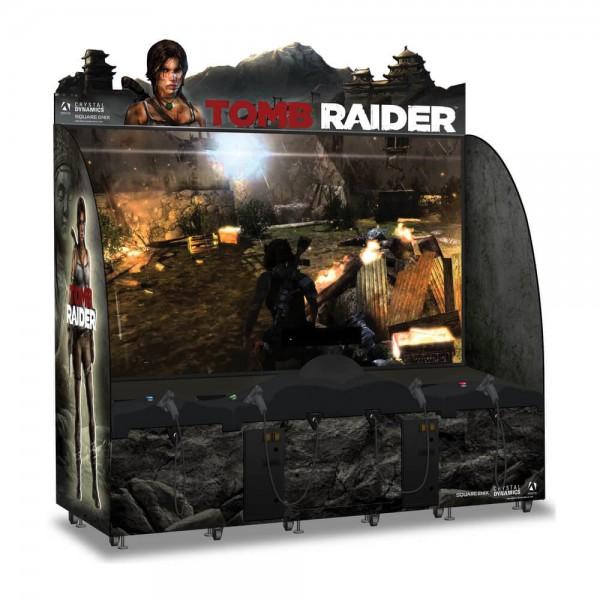 "Tomb Raider, 120"" DX, 4 Player"