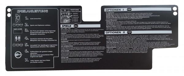 HB8 Panel Overlay mit Spielanleitung