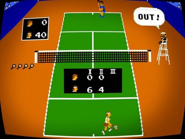 VS Tennis (Nintendo 1984) *original*