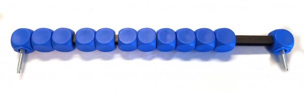 Toranzeige blau