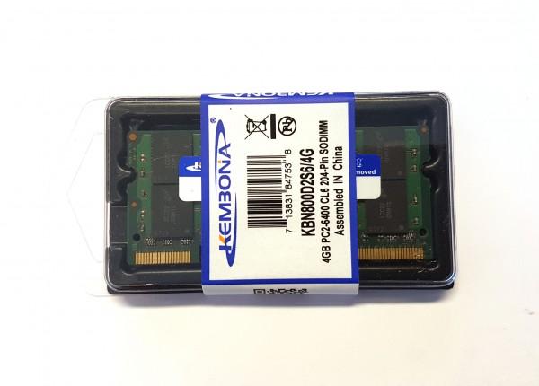 DDR2 4GB PC2-6400 CL6 204-Pin SODIMM (Laptop RAM)
