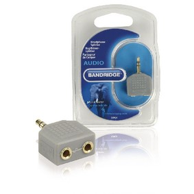 Blue Headphone Splitter, BAP424