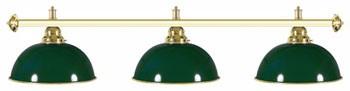 Billard Lampen - glockenfoermig, gruen