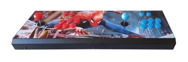 Arcade Konsole im Controlpanel mit Pandora DX 3000
