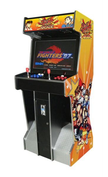 """Video Standgerät """"Street Fighter"""" mit 26"""" TFT, horiz. 3500 Spiele"""