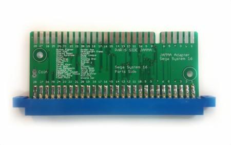 SEGA System 16 to JAMMA Adapter