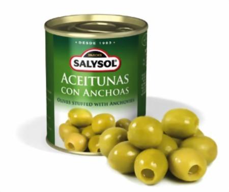 Oliven mit Sardellen