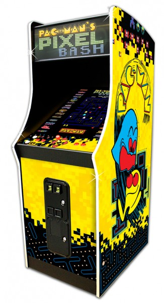 Pac Man Pixel Bash, Upright CoinOp Version