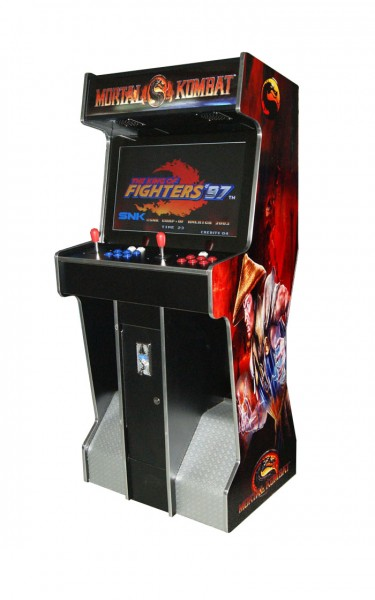 "Video Standgerät ""Mortal Kombat Red"" mit 26"" TFT, horiz., 3500 Spiele"