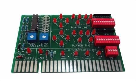 Test Board für JAMMA Automaten