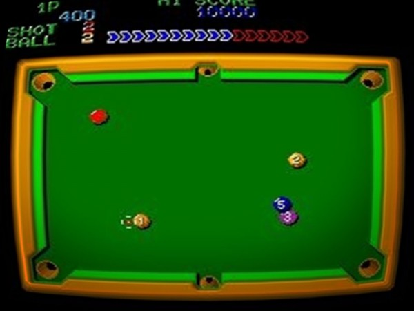 Perfect Billard (Sega 1982) *original*