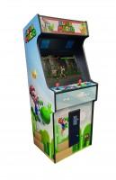 "Video Standgerät Super Mario"" mit 27"" HD Monitor, horiz, + Pandora 9D, od DX3000"