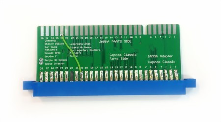 CAPCOM to JAMMA Adapter