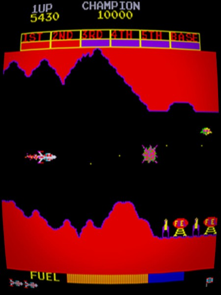 Scramble (Konami 1981) *bootleg*