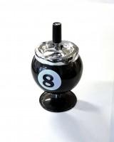 8-Ball Aschenbecher