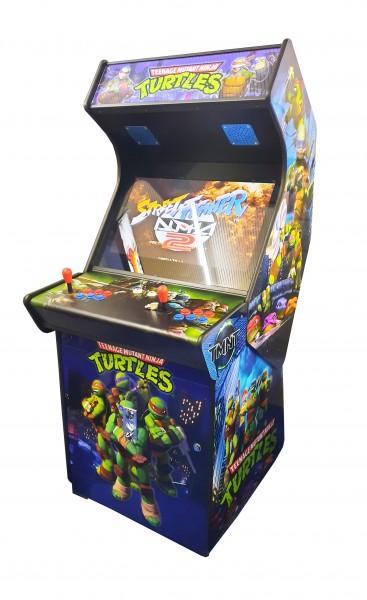 """Video Standgerät """"Ninja Turtles"""" mit 27"""" HD Monitor, horiz, + Pandora 9D, od DX3000"""