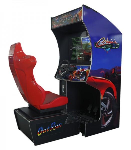 """Multigame Rennspiel Simulator, 32"""" TFT, horiz, 107 Spiele"""