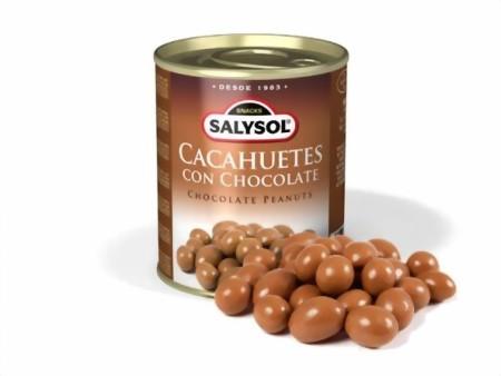 Erdnüsse mit Schokoüberzug