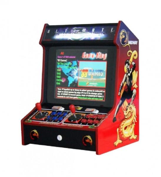 "Video Bartop ""Mortal Kombat"", 19"" TFT, horiz. 3500 Spiele"
