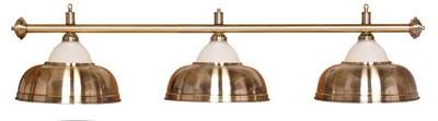 Billard Lampen - halbglockenfoermig, Kupfer