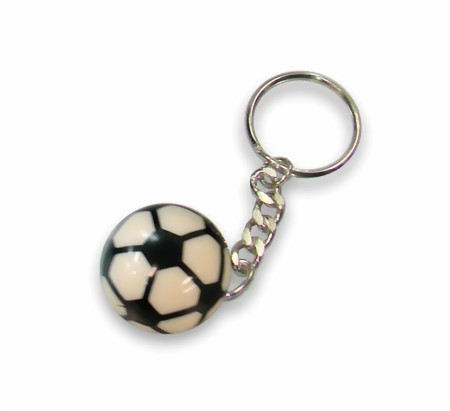 Schlüsselanhänger Fussball (Preis pro Stück)
