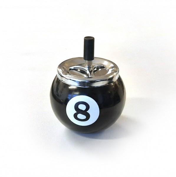 8-Ball Aschenbecher gross