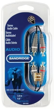 Audiokabel 3.0m, BAL4203