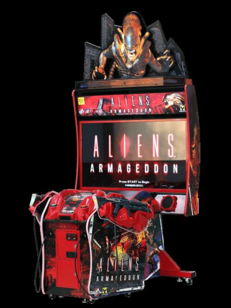 "Aliens Armageddon, 55"" DX"