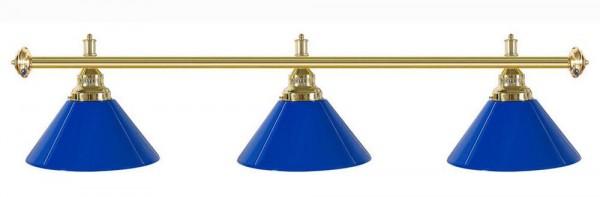 Billard Lampen - kegelförmig, blau Kunststoff