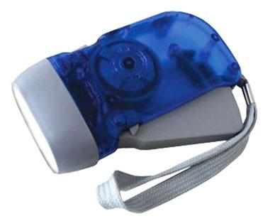 LED Taschenlampe mit Dynamo - läuft ohne Batterie!