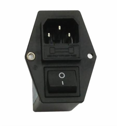 Gerätestecker mit Netzfilter 6A