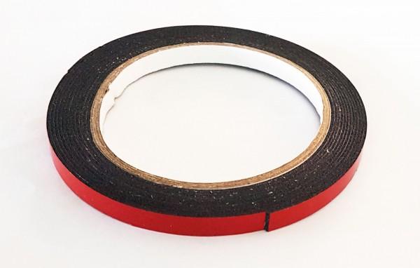 Doppelklebeband geschäumt, schwarz 320cm