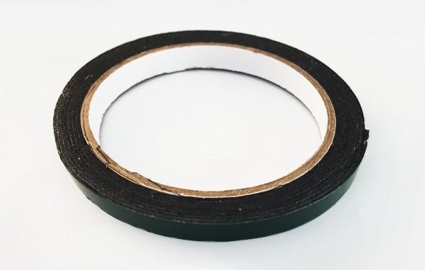 Doppelklebeband geschäumt, schwarz 220cm