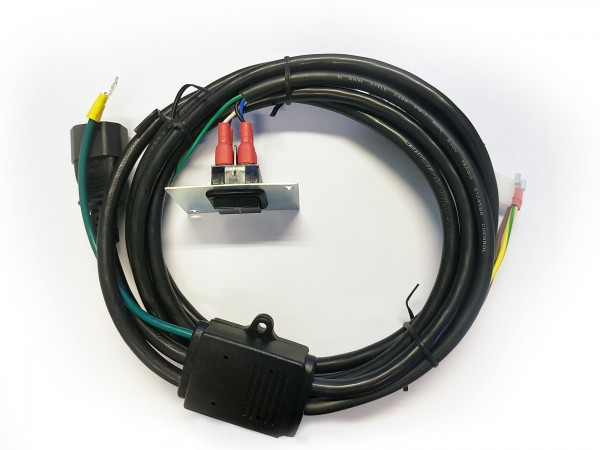 Power Cord 4-Way Molded