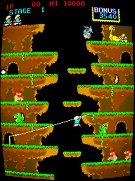Roc'n Rope (Konami 1983) *bootleg*