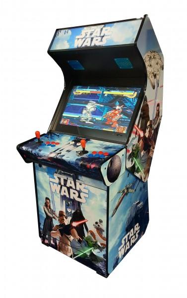 "Video Standgerät ""Star Wars"" mit 27"" HD Monitor, horiz, + Pandora 9D, od DX3000"