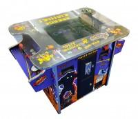 "Videotisch mit 19"" TFT Monitor, vertikal, Joysticks + Trackballs, Pandora 516in1"